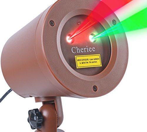 Outdoor Laser Christmas Lights Landscape Star String Projector