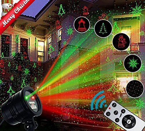 Christmas Laser Light Projector Popstar Waterproof Led