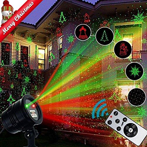 Reject Shop Laser Christmas Lights: Christmas Laser Light Projector, Popstar Waterproof LED